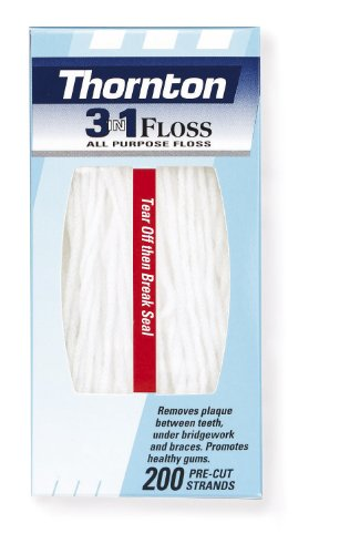 Thornton 3-en-1 Floss (200 brins)