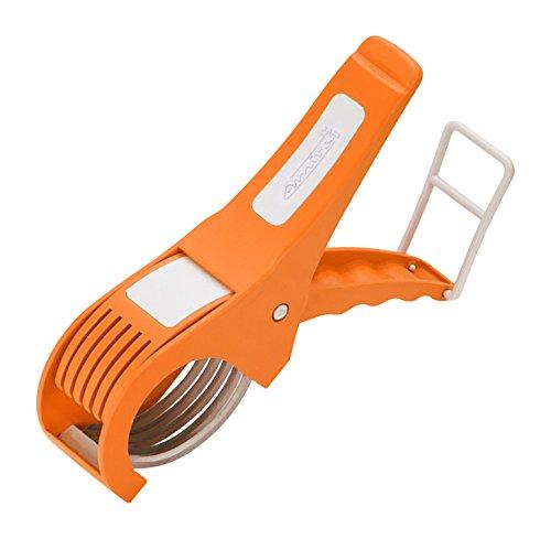 Amiraj Plastic Vegetable Cutter, White/Orange