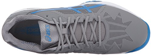 Asics Mens Gel-solution Speed 3 Scarpe Da Tennis In Alluminio / Blu Elettrico / Bianco
