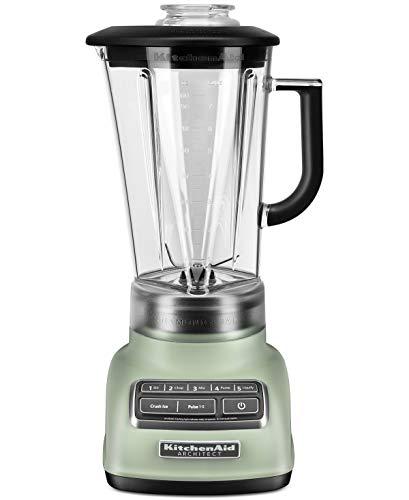KitchenAid KSB1575API 5-Speed Diamond Blender with 60-Ounce BPA-Free Pitcher Architect Series, Matte Pistachio Green ()