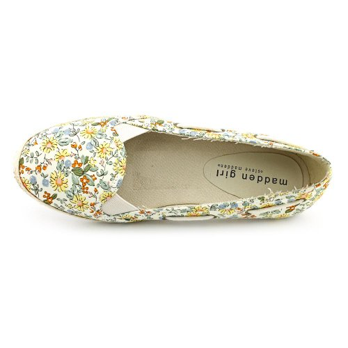 Stripess girl madden Women's girl Stripess Women's Flat madden nqYwE5x7v6