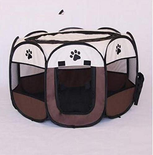 7S MARIS Cat Litter Pet Tent Closed Pregnancy Production Cat Cage Outdoor Folding Anti-mosquito Cat Delivery Room pet bed,7S