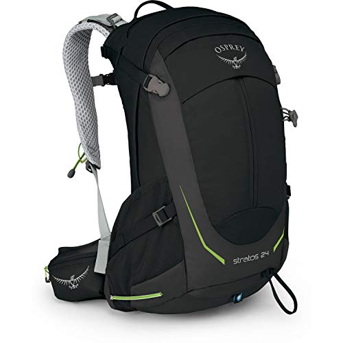 Osprey Packs Stratos 24 Hiking Backpack, Black, o/s, One Size