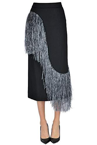 DRIES VAN NOTEN Luxury Fashion Womens Skirt Spring Black (Van Skirt Dries Noten)