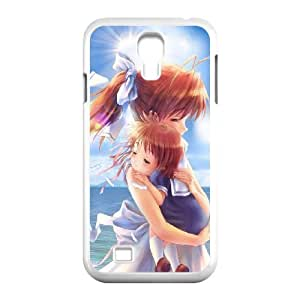 Hard Pattern Cases Samsung Galaxy S4 I9500 Cell Phone Case White Clannad Lhmxg Protective Fits Cover