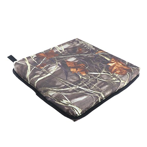 Homyl Travel Waterproof Chair Seat Cushion Pad Outdoor Garden Camping Mat Picnic For Stool - Camo