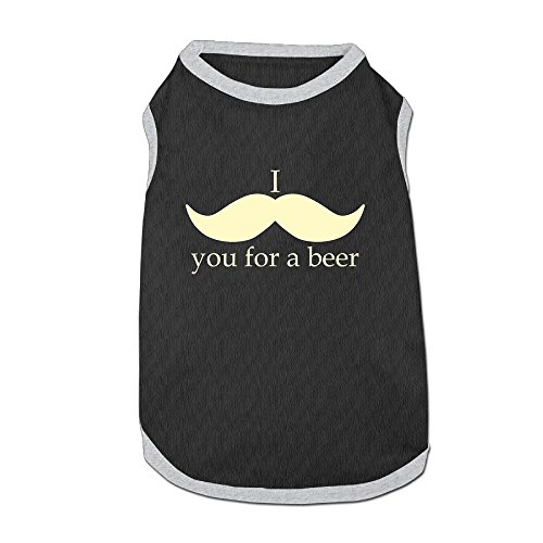 [Sweatshirts Dog Sweaters I ....you For A Beer Dog JacketsSoft And Warm] (Beer Koozie Costume)