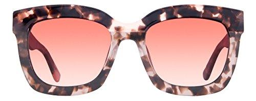 Designer Sunglasses - Diff Eyewear - Carson - Square Glasses - Hand Cut Acetate Frames - 100% UVA/UVB Sun Protection - Scratch Resistant - Polarized CR39 Lenses