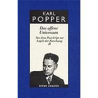 Gesammelte Werke: Band 8: Das offene Universum (Karl R. Popper-Gesammelte Werke, Band 8)