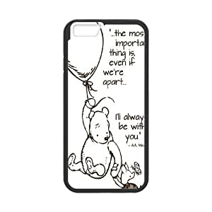 "Cute Bear Winnie the Pooh Hard Plastic phone Case Cove For Apple Iphone6/Plus5.5"" screen Cases JWH9148376"