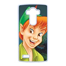 Durable Rubber Cases LG G4 Cell Phone Case White Inxhk Peter Pan Protection Cover