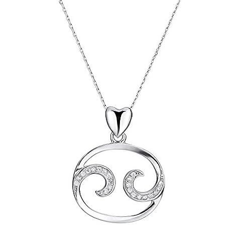 VIKI LYNN Zodiac Constellation Necklace Horoscope Jewelry for - Sale: $19.99 USD