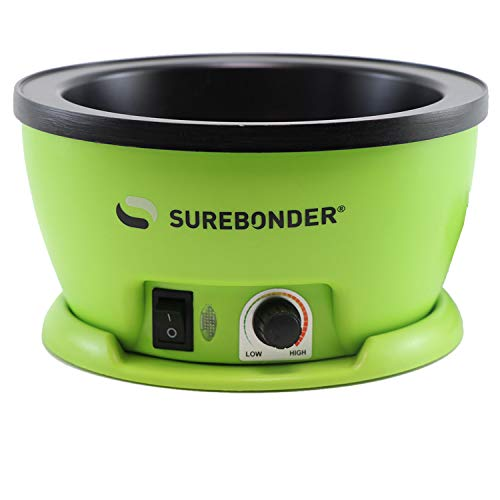 Surebonder 803 Adjustable Temperature Electric Glue Skillet - 5-1/4
