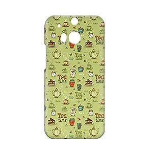 Tea Time HTC One M8 3D wrap around Case - Design 3