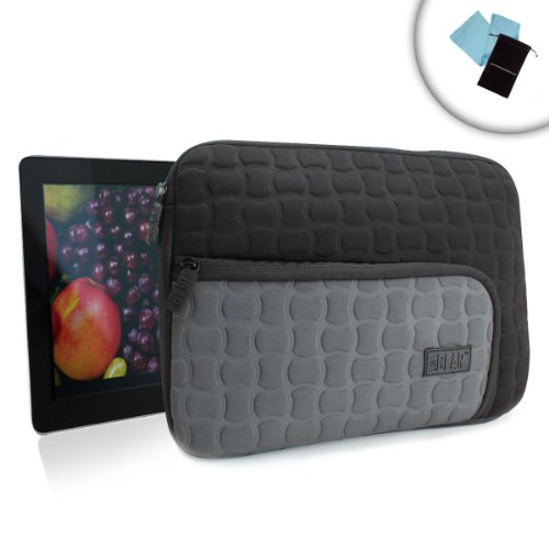 USA GEAR FlexARMOR X Protective Neoprene Tablet Sleeve Ca...
