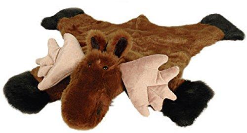 Carstens Plush Moose Animal Rug, Large