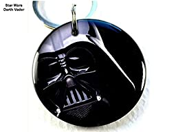 Pet ID Tags Dog Tags Star Wars Darth Vader (Medium 1.25\