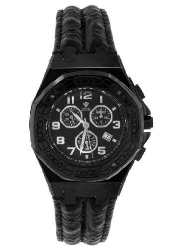 Mens Aqua Master Explorer LUX Black Diamond Watch W 325B