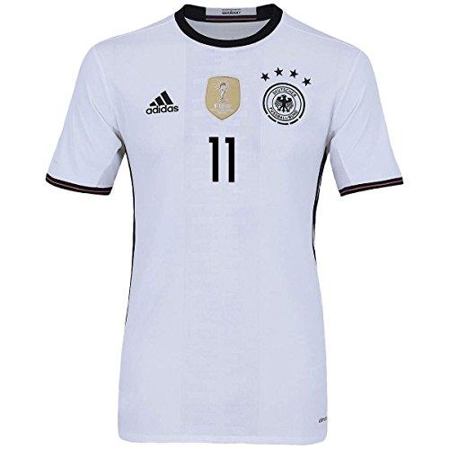 287ec3378 new adidas Draxler  11 Germany Home Soccer Jersey Euro 2016 ...