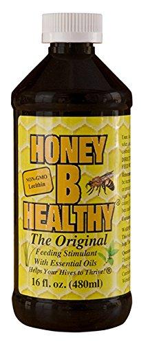Honey B Healthy Original Feeding Stimulant with Essential Oils, 16oz Bottle