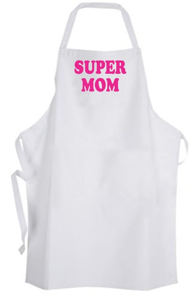 Super Mom – Adult Size Apron – Great Mother