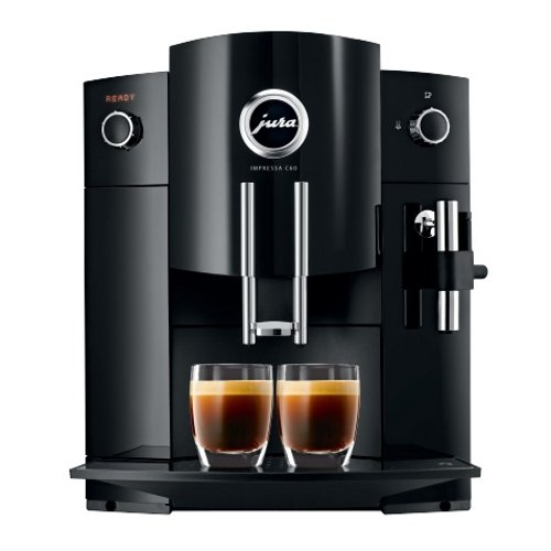 Jura Impressa C60 Piano Black Combination Espresso Machine by Jura