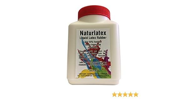 Látex líquido (500 ml, espeso, color natural, goma natural líquida): Amazon.es: Bricolaje y herramientas