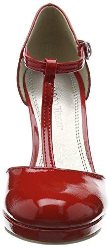Rosso Donna chili Tozzi24416 Con Scarpe rot 533 Marco Tacco 6qBaX