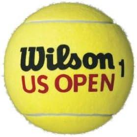 Wilson US Open 9 Jumbo Pelota de tenis, 22 cm, extragrande, óptimo ...