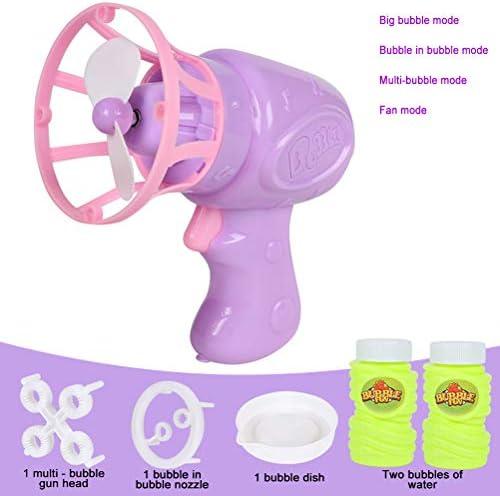 Grokebo 電動バブルマシン 電動ファンバブルマシン 泡泡製造機 子供のおもちゃ 楽しい シャボン玉製造機 玩具ゲーム 電動 ?子活?