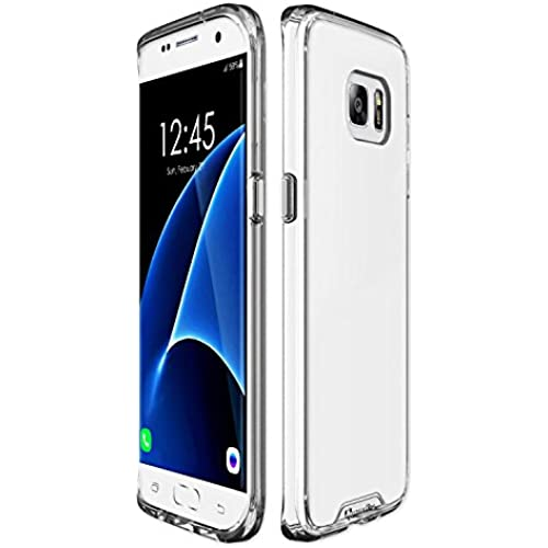 Qmadix Galaxy S7 Edge Plus Case, C Series Ultra-Thin Clear Premium Co-Molded TPU Case Sales