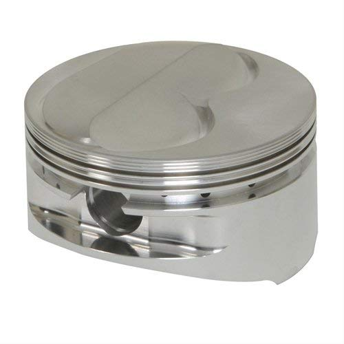 JE Pistons 173586-1 Forged Nitrous Dome Top Piston Small Block Chevy 400 Bore 4.