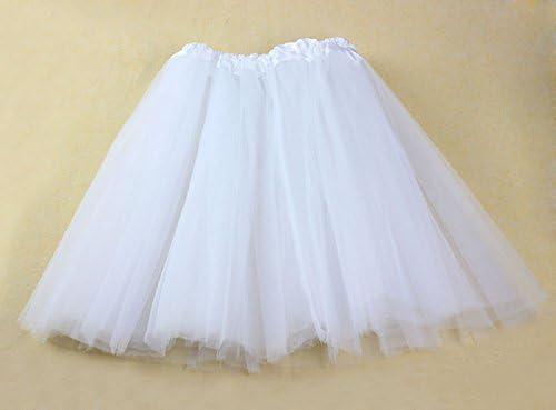Yumi88 - Vestido de Tul elástico para niña, Adultos, tutú, 3 Capas ...