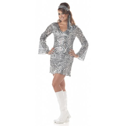 Plus Size Disco Diva Adult Costume -