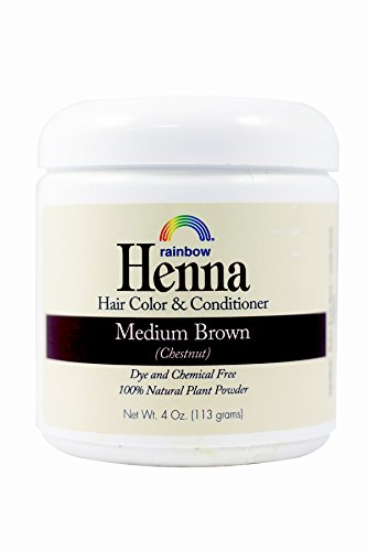 Rainbow Research Henna Hair Col Original And Conditioner Persian Medium Brown Chestnut - 4 Oz  (packaging may vary)