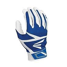 Easton Z3 Hyperskin Batting Gloves, White/Royal, Medium