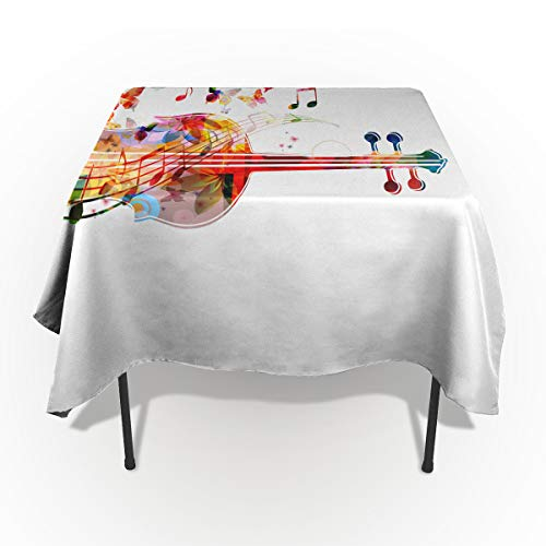 Fantasy Star Rectangle Polyester Tablecloth, Watercolor Butterfly Cello Tablecloths Machine Washable Table Cover Decorative Table Cloth for Kitchen Dinning Banquet Parties 60 x 120 - Cello Butterfly