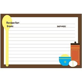 Meadowsweet Kitchens Recipe Card Set   Utensils