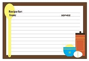 Recipe Card Holders Kitchen