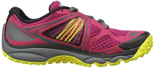 BrooksPuregrit 3 Women - Zapatillas de running mujer Multicolor - Sangria/Cherry Tomato/Buttercup