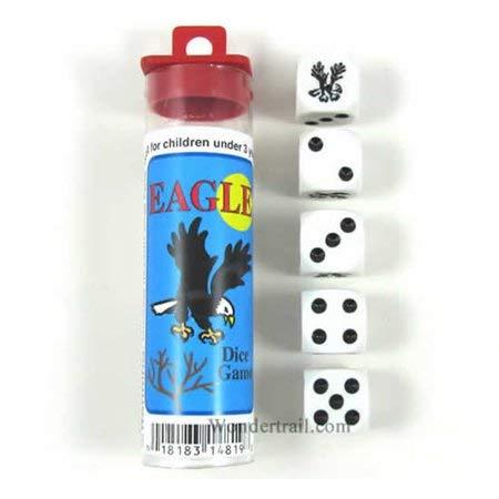 買い保障できる Eagle B002TW89QO Dice Eagle Game(イーグルサイコロゲーム) Dice B002TW89QO, わんのはな:7715985a --- arianechie.dominiotemporario.com