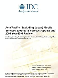 Asia/Pacific (Excluding Japan) Mobile Services Year-End Review, 2009 Alex Chau