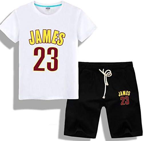 Camiseta de Hombre Camiseta Masculina NBA Lakers James Traje de Manga Corta 23# Entrenamiento de Baloncesto Camisa Juvenil Gran tamaño Cuello Redondo Traje Corto (Color : White3, Size : XXXXXL): Amazon.es: Hogar