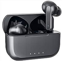 【 Bluetooth イヤホン】 完全 ワイヤレス イヤホン 自動ペアリング 3DステレオサウンドHIFI超高音質 ブルートゥース イヤホン ボリューム調節可能 左右分離型 CVC8.0ノイズキャンセリング 両耳ハンズフリー通話 マイク内蔵