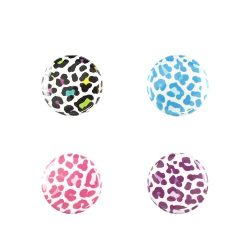 Il Bere Wine and Drink Charms Fun Collection, Serengeti Animal Print by Il Bere