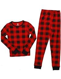 Pajamas for Girls Snug-Fit Cotton Kids PJ Set