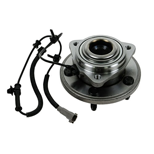 Jeep Hub Assembly (New Front Wheel Hub and Bearing Assembly Fits 2006 2007 2008 2009 2010 Jeep Commander and 2005 - 2010 Grand Cherokee With ABS Wire 513234)