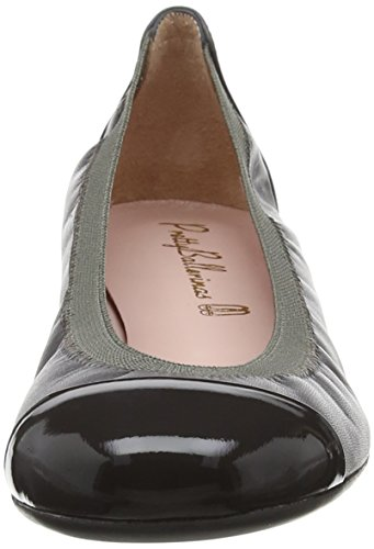 Pretty Ballerinas Shirley, Ballerine Basse Donna Grey (Honey Jasper Coton Canan)