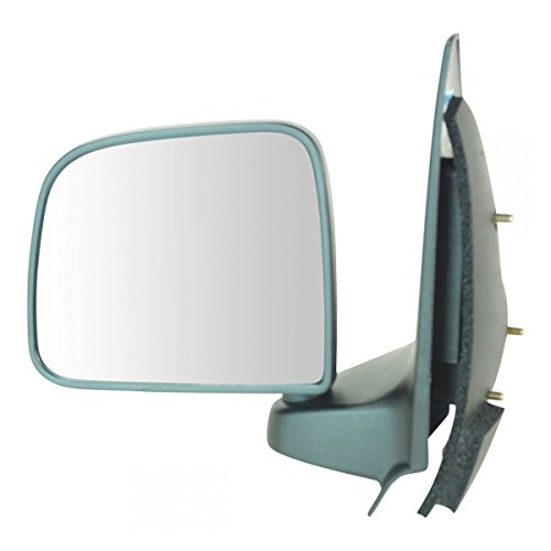 Manual Black Door Mirror LH Left Driver Side for 93-97 Ford Ranger Pickup Truck