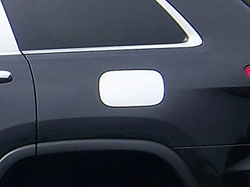 GC51080 1 Piece Stainless Gas Door Cover Trim QAA fits 2011-2020 Jeep Grand Cherokee